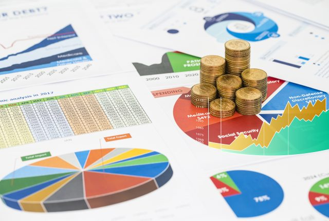 financial data pertaining to a small business